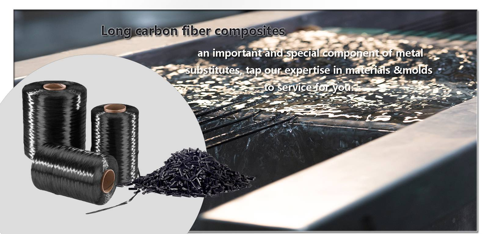 Long carbon fiber composites